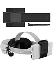 KIWI design VR Power Bank-bevestigingsriem voor Oculus Quest/Quest 2-accessoires Compatibel voor meerdere maten Mobiele stroomvoorziening Bevestigd op de VR-kop