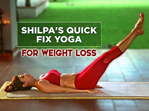 Shilpa Yoga Quick Fix - 15 Min Yoga Asanas for Weight Loss