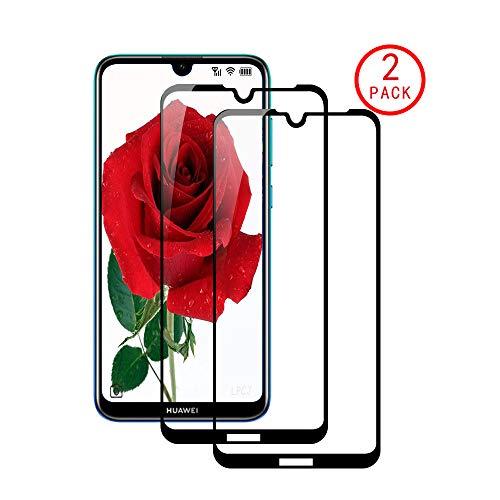 LPCJ Protector de Pantalla Huawei Maimang 8/Honor 10 Lite/Enjoy 9S, [2 Piezas] Cristal Templado, [Dureza 9H] [Alta Definición ],Protector Pantalla para Huawei Maimang 8/Honor 10 Lite/Enjoy 9S