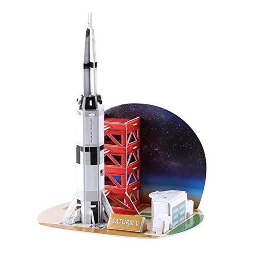 niumanery 3D Aerospace Solar System Globe Puzzle Jigsaw Educational Toy DIY Assembled Gift A