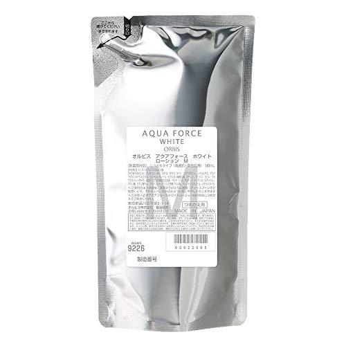 Orbis Aqua Force White Series Skin Lotion Refill 180ml - Moist (Green Tea Set)