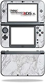 MightySkins Skin Compatible with Nintendo New 3DS XL (2015) - Frost Marble | Protective, Durable, and Unique Vinyl Decal wrap Cover | Easy to Apply, Remove, and Change Styles | Made in The USA