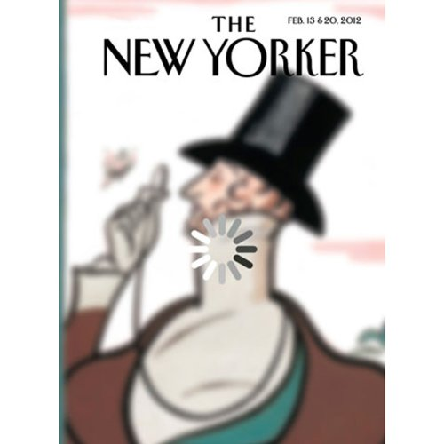 The New Yorker, February 13th & 20th 2012: Part 2 (Jonathan Franzen, Lizzie Widdicombe, Anthony Lane) cover art