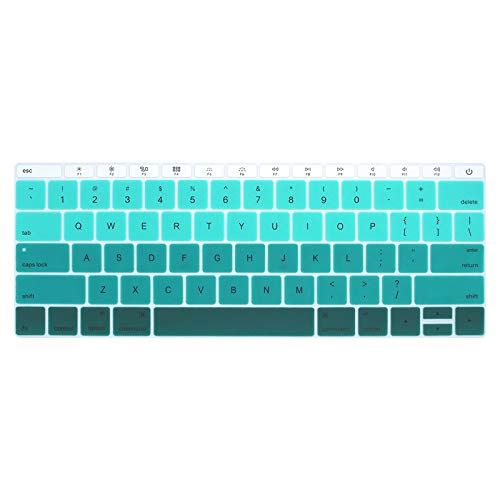 US-Ente laptop keyboard cover For macbook 12 pro13 without touchbarSilicone keyboard protective film for A1534 A1931 A1708 A1988-I