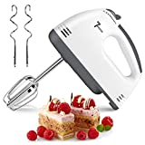 2020 Electric Hand Mixer, 7 Speed Handheld Mixer Food Beater, Kitchen Blender Egg Whisk with Egg Sticks & Dough Sticks for Whipping Dough, Cream & Cake