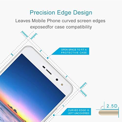 Superbxu Gute 2 stücke for Huawei y5 2017 0,3mm 9 h oberflächenhärte 2,5d explosionsgeschützte vollbild gehärtetem Glas Screen Film