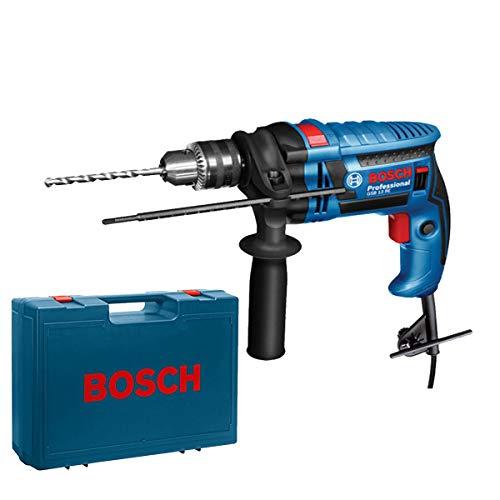 Bosch–Trapano a percussione 600W 13mm. Con Valigia gsb13re