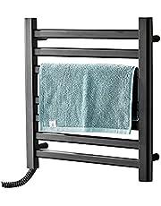 Handdoekenrek Verwarmingsstang Handdoek Warmer Droogrek Handdoekradiator Elektrische Handdoekradiator Laag Verbruik Handdoekenrek In De Badkamer (Color : White, Size : Left exit)