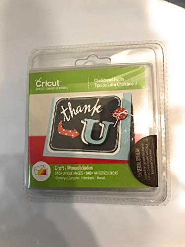 Cricut Cartridge - Chalkboard Fonts