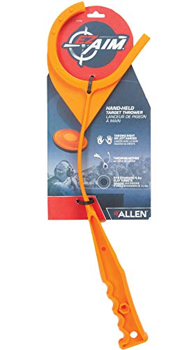Allen Company Handheld Clay Target Thrower (Clay not Included) - Orange, One Size