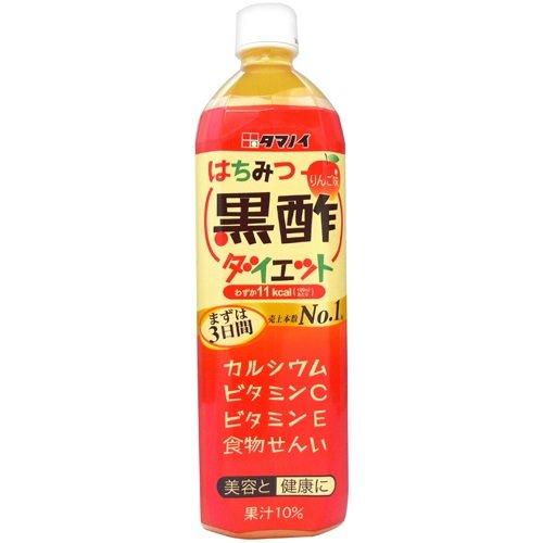 タマノイ酢 はちみつ黒酢ダイエットペット900ml