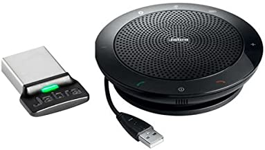 Jabra Speak 510+ with Link 360 – USB & Bluetooth Speakerphone Optimized for UC