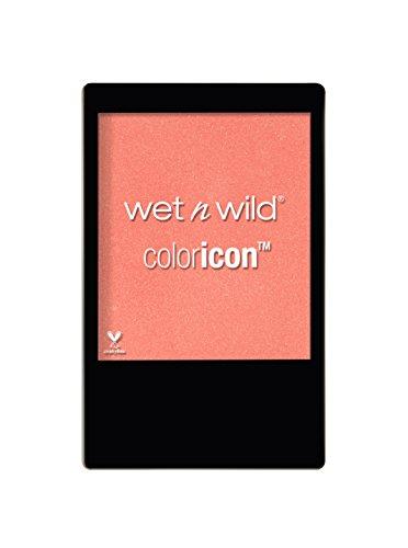 Wet N Wild – Coloricon™ Blush - seidenweiches Rouge für einen strahlenden Glow, Pearlescent Pink, 1er Pack, 30g