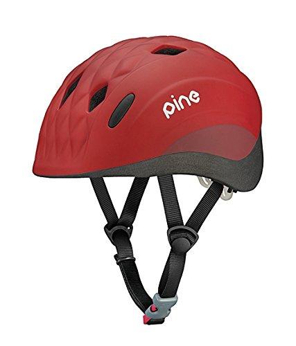 オージーケーカブト(OGK KABUTO) 自転車 ヘルメット 子ども用 PINE(パイン) フラミンゴレッド 幼児用(頭囲:47~51cm)