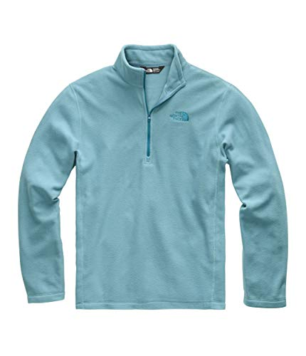 The North Face TKA 100 Glacier 1/4 Zip TNF Black LG