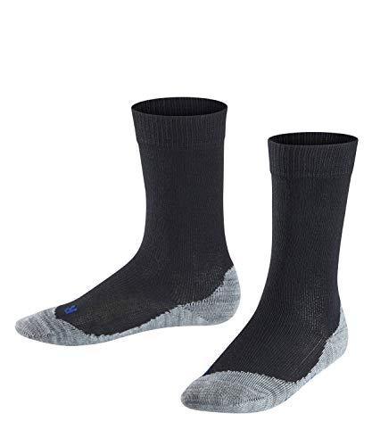 FALKE Kinder Socken Active Sunny Days - Baumwollmischung, 1 Paar, Schwarz (Black 3000), Größe: 35-38