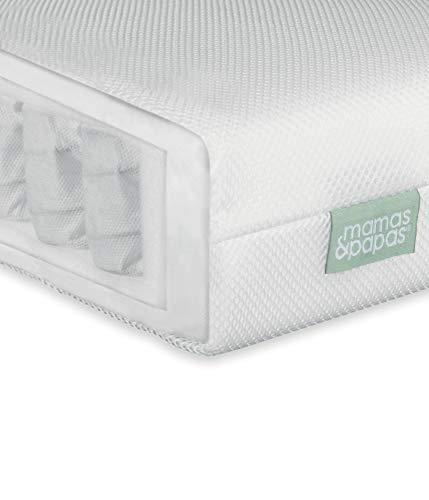Mamas & Papas Large Cot Premium Pocket Sprung Mattress/Nursery Bedding