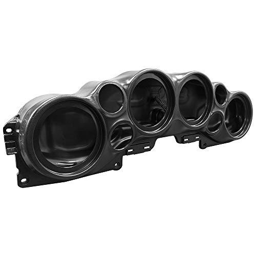 DS18 JL-SBAR Black Jeep Wrangler Overhead Soundbar for JL 2007-2021 Will Accommodate 4 x 8-inch Speakers, 4 x 1.75-inch Tweeters, (Black)