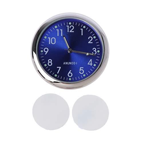 Sidougeri Universelle Auto-Uhr zum Aufkleben, elektronische Uhr, Armaturenbrett, Nachtleuchtende Dekoration für SUV Autos