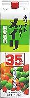 [焼酎甲類]35度 ホワイトリカー メイリ 1.8Lパック 3本 (1800ml)(めいり・明利)