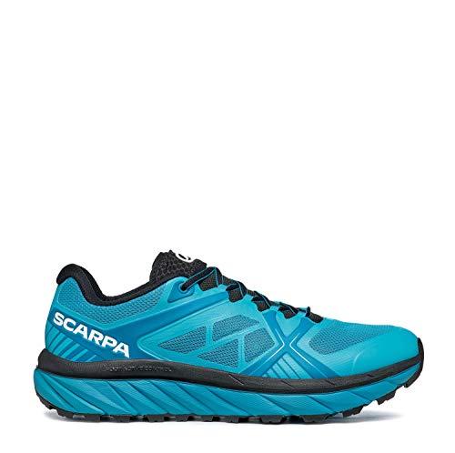 Scarpa SPIN Infinity, Zapatillas de Trail Running Hombre, Azure-Ottanio ARSF Velox Cross, 45 EU