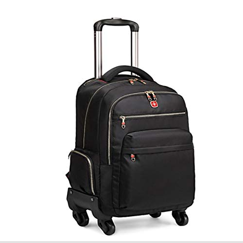 Anno AnnoExpandable suitcase 60 cm -23.62 inches, laptop bag, with fast rotating wheels and easy access front pocket