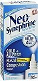 Neo-Synephrine Cold & Sinus Spray Regular Strength - .5 oz, Pack of 3