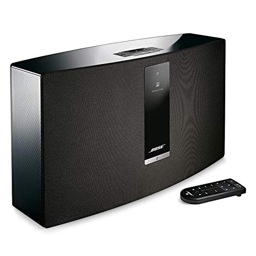 Bose SoundTouch 30 wireless speaker, Compatible with Alexa, Black 738102 1100 Renewed