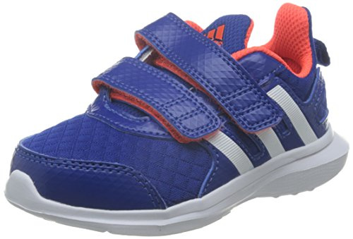 adidas Unisex Baby Hyperfast 2.0 CF I Sneaker, Azul (Reauni/Ftwbla/Rojsol), 23 EU