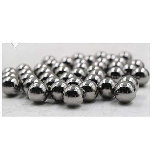 Bola de acero 8 mm, Bola de acero 8, Bola de acero, 78.5910, Bola de acero, Acero inoxidable, Bola de hierro, Píldora de seguridad 1 kg-Canicas de 8 mm (20 cápsulas)