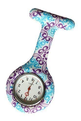 Reloj Médico Reloj Prendedor de Broche de Túnica de Param