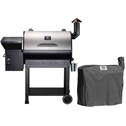 Buy Discount Z GRILLS ZPG-7002E Wood Pellet Grill BBQ Smoker for Outdoor Cooking, 2020 Upgrade, 8-in...