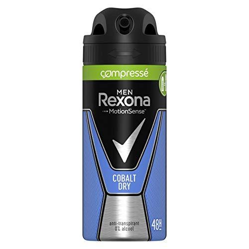REXONA - Men Déodorant Compressé Cobalt 100Ml - Lot De 3