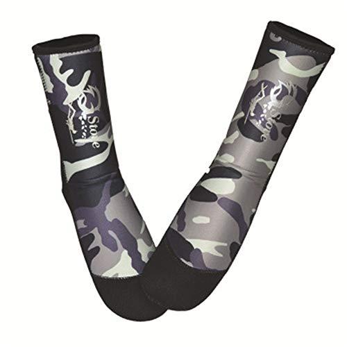 MDYYD Diving Socks Neoprene Socks Beach Booties Shoes 5mm Glued Blind Stitched Anti-Slip Wetsuit Boots Fin Swim Socks Non-Slip Flexible Diving Socks (Color : B, Size : 40)