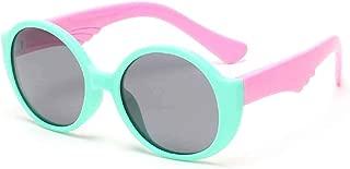 Children's Round Uv Protection Fashion Sunglasses Kids Sunglasses Glasses,Green
