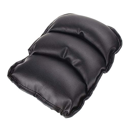 TRUE LINE Automotive Car Center Console Armrest Cushion Comfort Pillow Pad (Black)