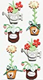 Artoz Artwork 3D Motiv-Sticker 185600-180 'Blumen im Topf'