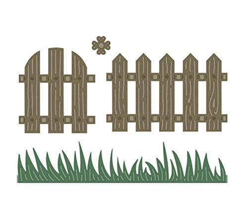 Troqueles de corte de metal Scrapbooking Papel Artesanía Troqueles Cortes En relieve Tarjeta Hacer Puerta de madera Valla Crear Plantilla