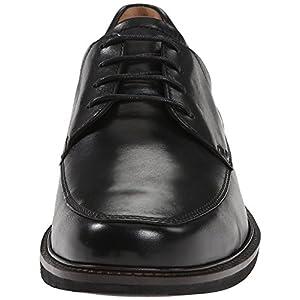 ECCO Men's Holton Apron Toe Tie, Black, 10-10.5