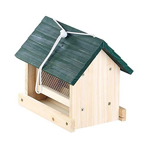 Monsterzeug Nistkasten für Vögel, Vogelhaus zum Selber Bauen, Futterhaus Bausatz DIY, Selfmade Vogelfutterhaus