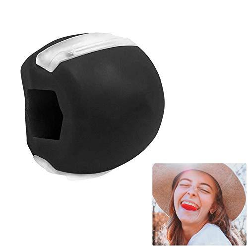 Ejercitador de Mandíbula Tonificador Facial, Bola De Silicona para Adelgazar La Cara Tóner Facial Tonificador Facial Ejercitador Equipo Tonificador De Cuello