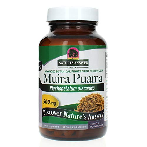 Nature's Answer Muira Puama Bark 90 Veg Caps By