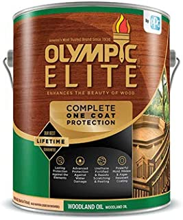 Olympic/Ppg Architectural Fin 80115/01 GAL RED Cedar Oil Stain - Quantity 1