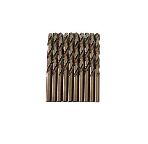Broca para metal HSS DIN338 M35 cobalto de 10mm (paquete de 10 unidades)