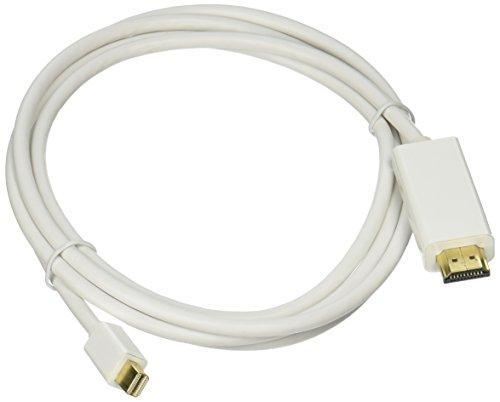 C&E Mini_Dis-HDMI-CB6 Mini DisplayPort to HDMI Adapter Cable, 6 feet