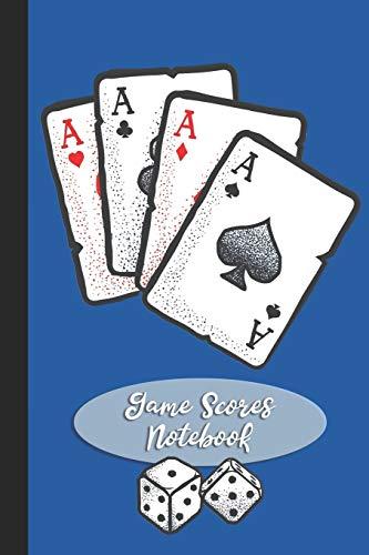 Game Scores Notebook: Gaming Log