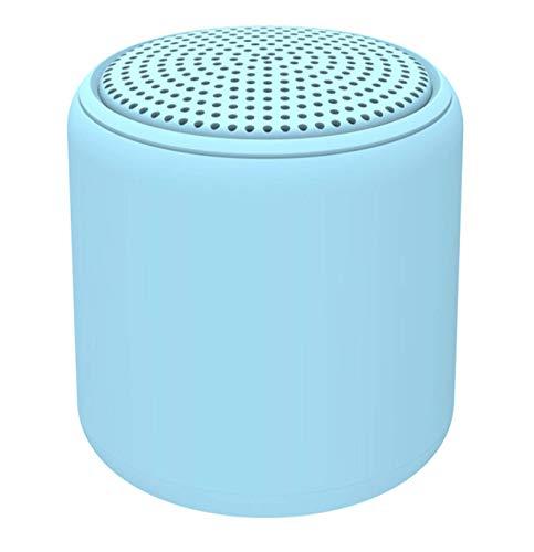 NXSI Altavoz Bluetooth, alto volumen, altavoz inalámbrico portátil, altavoz inalámbrico impermeable al aire libre, mini altavoz estéreo compacto, caja de graves envolvente de música, azul