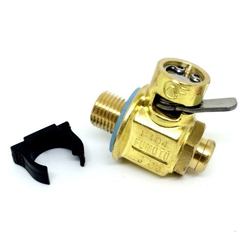 Fumoto Original F106S with LC-10 Lever Clip FS-Series Engine Oil Drain Valve, 1 Pack