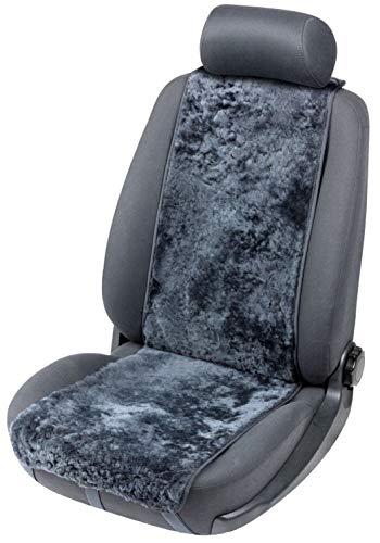 Walser Autositzbezug Lammfell Lammfellbezug Cosmo mit Reißverschlusssystem Autoschonbezug Lammfell anthrazit