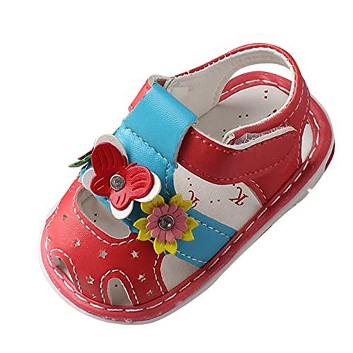 YWLINK Bebé Verano Moda Hueco Suela Suave Baotou Hueco Zapatos Para NiñOs PequeñOs Sandalias,Zapatos De Playa,Sandalias,Zapatos Ligeros Antideslizante Fiesta Al Aire Libre La Boda Zapatos Romanos